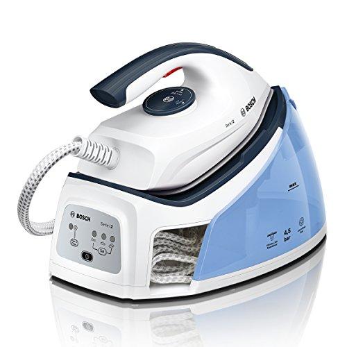 Bosch TDS2140 Dampfstation (2.400 Watt, 4,5 bar Dampfdruck, 220g Dampfstoß, kein Wäschesortieren dank Voreinstellung, Abschaltautomatik)