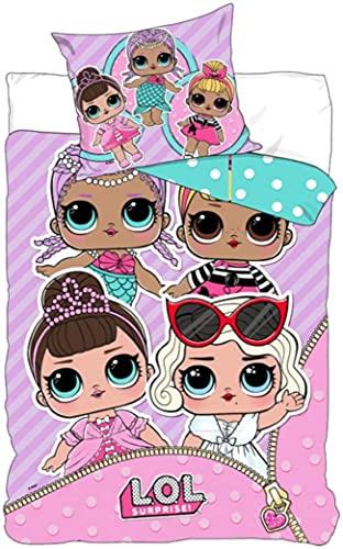 Sorpresa LOL 'Vamos a ser Amigos', algodón poliéster algodón poliéster, Rosa, Suelto