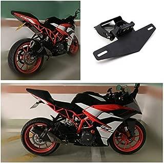 XuBa Motorcycle Modification Light Frame Short Style Plate Frame for K-TM RC390 DUKE390 17-19-19