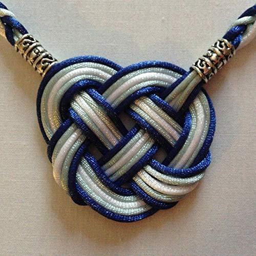 Celtic Heart All Satin Handfasting Cord
