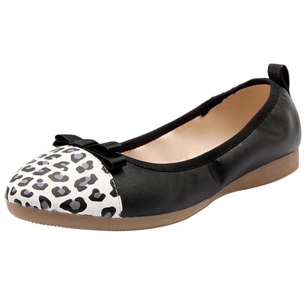 プロット担保イタリアの[COOLCEPT] レディース ローファー フラット 婦人靴 柔らかい