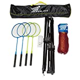 Bogalen Height Adjustable Badminton, Tennis, or Volleyball Portable...