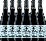 VINELLO 6er Weinpaket Rotwein - Pablo Claro Special Selection Tinto 2019 - Dominio de Punctum mit einem VINELLO.weinausgießer | trockener Rotwein | biodynamischer Wein aus Spanien | 6 x 0,75 Liter