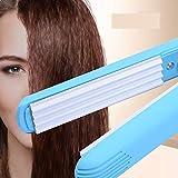 ELECTSHONG Rizador de pelo eléctrico portátil y esponjoso con ondas pequeñas, rizador de pelo ondulado, rizador de pelo, herramientas de estilo
