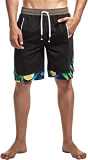 Quick Dry Swimming Shorts Surfing Beach Swimwear Elastic Waist with Pocket Drawstring Summer