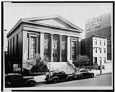 Foto: Methodist Church, 309puente calle, Brooklyn, Nueva York, 1950?, Ripley ropa, coches