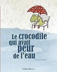Livres Halloween : Le crocodile qui avait peur de l'eau
