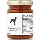 TRUFFLES USA Hot Sauce & Bianchetto White Truffle 3.1oz (90g) - Imported from Italy - Delicate Sauce...