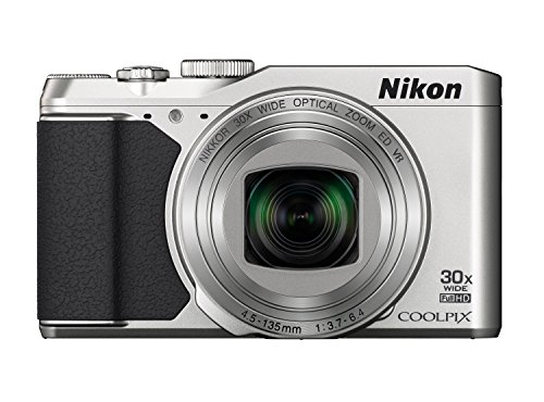 Nikon Coolpix S9900 Digitalkamera (16 Megapixel, 30-Fach Opt. Zoom, 7,6 cm (3 Zoll) OLED-Display, USB 2.0, bildstabilisiert) Silber