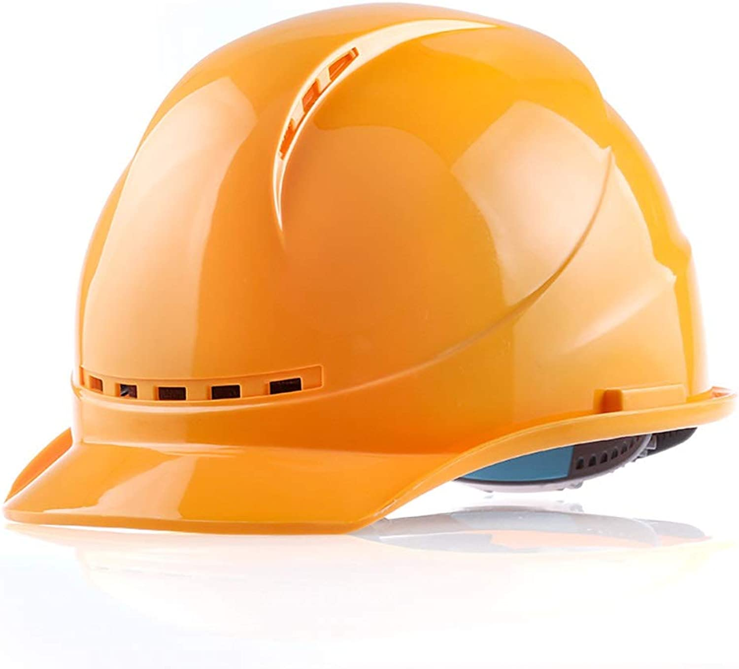 Breathable Construction Hard hat  Impact Resistant, high Temperature Resistant, Suitable for Processing and Production, Personal Predective Equipment.
