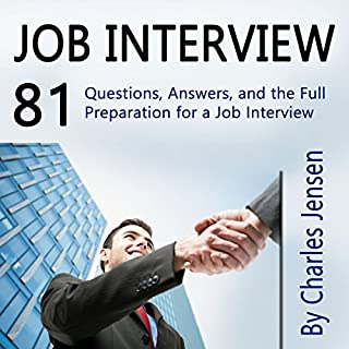 Job Interview audiobook cover art