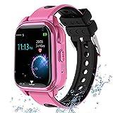 "Kids Smartwatch GPS Tracker Phone, 2020 New Waterproof Children Smart Watches with 1.4"""
