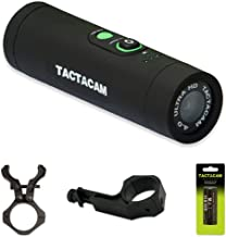 TACTACAM 4.0 Hunting Action Camera - Gun Combo Package - Includes Gun Mount, Under Scope Rail Mount and Extra Rechargeable Battery