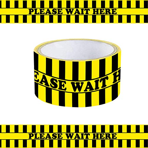 Decdeal Barrier Tape Safety Tape Warning Tape PVC für Ausgewiesene Bereiche