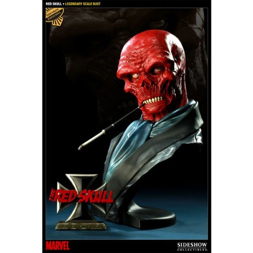 Sideshow Collectibles - Marvel buste Legendary Scale Red Skull 30 cm image