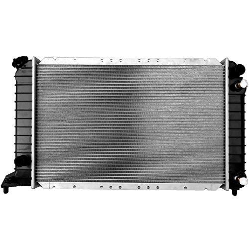 AutoShack RK608 23.6in. Complete Radiator Replacement for 1994-2003 Chevrolet S10 GMC Sonoma 1996-2000 Isuzu Hombre 2.2L