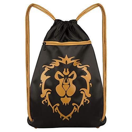 JINX World of Warcraft Alliance Loot Bag, schwarz, 46 x 36 cm