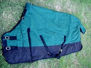 800D Turnout Waterproof Winter Horse Blanket Rug Heavy Weight 59 P