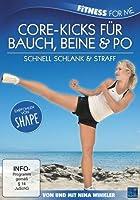 Core-Kicks für Bauch, Beine & Po