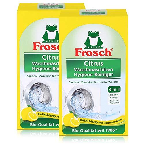 Frosch Citrus Waschmaschinen Hygiene-Reiniger 250g - Kalklösend (2er Pack)