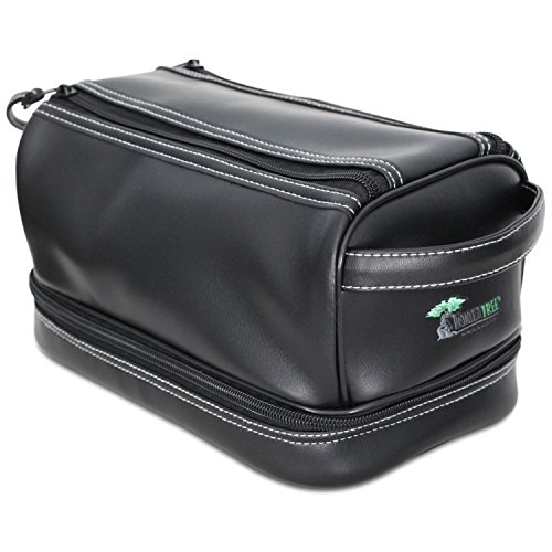 ToiletTree Products Toiletry Bag with 3 TSA Approved Bottles and Sonic Travel Toothbrush