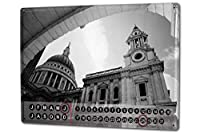 カレンダー Perpetual Calendar Retro Art Metropole Butcher London England Tin Metal Magnetic