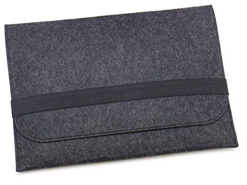 『[NEXARY] MacBook Pro Retina 13 インチ, Air 13インチ, Ultrabook 13.3 インチ フェルト スリム 収納 パソコン インナーケース (13PR チャコールグレー)』の1枚目の画像