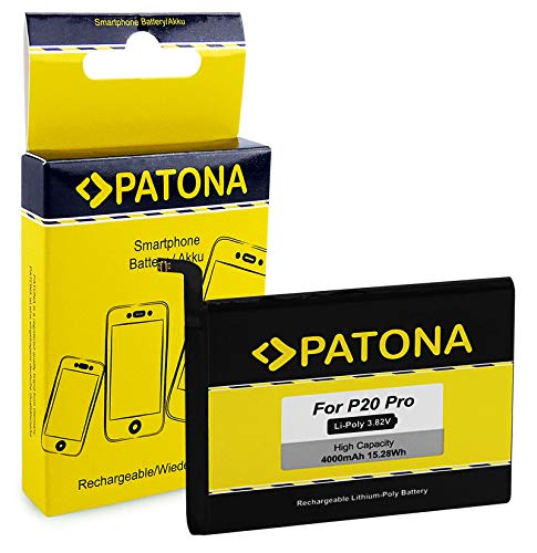 PATONA Bateria HB436486ECW 4000mAh Compatible con Huawei Mate 10 Pro, P20 Pro