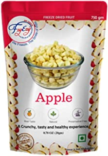 FZYEZY Natural Freeze Dried Fruit for Kids and Adults (Apple, 750 gm)