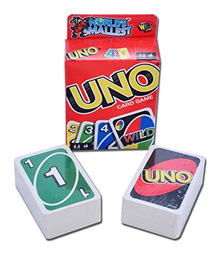 Worlds Smallest UNO - Miniature Version of the Classic Card Game - Fully...