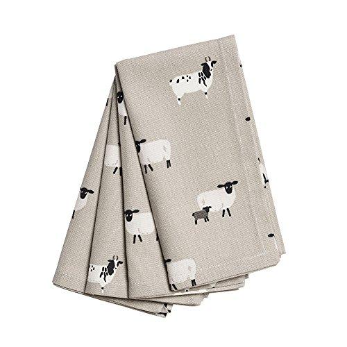 Sophie Allport tovaglioli (set of 4)–Sheep design