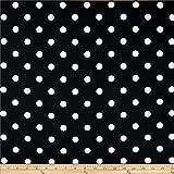 Premier Prints Polka Dot, Yard, Black/White