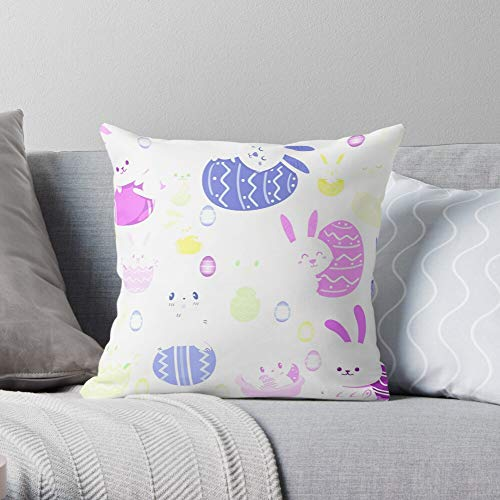 Sunday Palm Bunny Wednesday Church Ash Easter 2021 2020 I Fsgcanxana- Throw Pillow Cases for Living Room Couch Car Indoor Outdoor Christmas Home Decor
