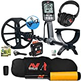 Minelab Equinox 800 Multi-IQ Metal Detector w/ Pro Find 20 Pinpointer, Carry Bag