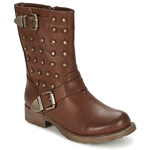 Kaporal Walila, Boots Femme - Marron (9 Marron), 40 EU