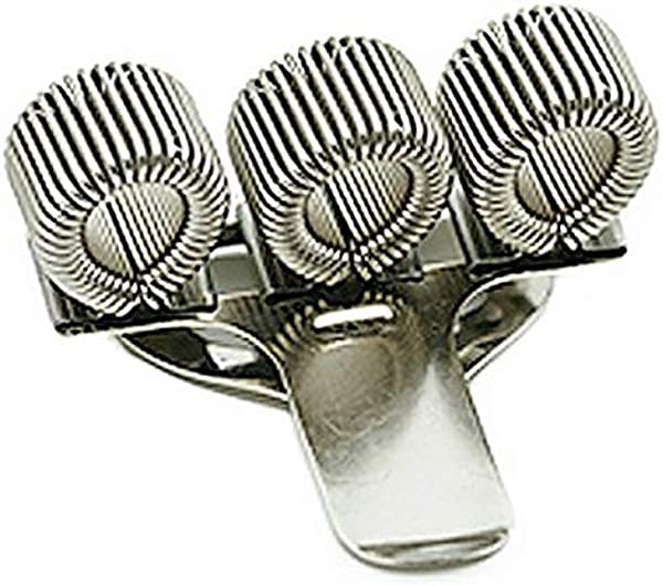 Triple Metal Pen Holder With Pocket Clip Home Office Supply Nurse Doctor Police Spring Clip