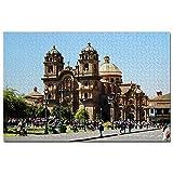 ペルークスコ大聖堂ジグソーパズル1000ピースゲームアートワーク旅行お土産木製