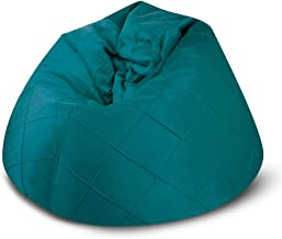 BAGZO ROPY RELAXING CHAIR XLARGE COMFY BEAN BAG GREEN