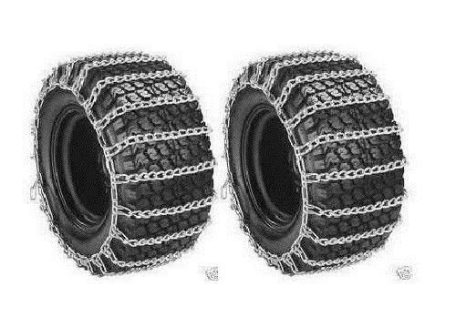 Find Bargain 2 Link TIRE CHAINS 18x6.50-8 18x650-8 18x650x8 18-6.5-8 Tractor Rider Snowblower ;suppl...