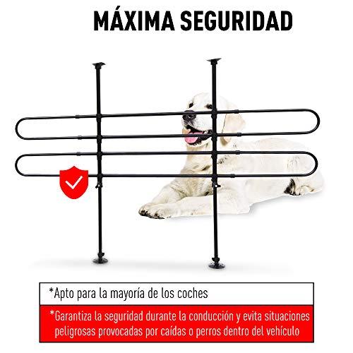 Barrera Proteccion Perro Reja Seguridad Acero Medida Universal Maletero Coche Perros