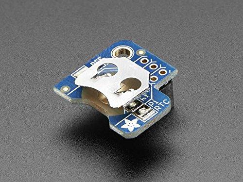 Adafruit PiRTC ADA3386 - Reloj en tiempo real para Raspberry Pi (PCF8523)