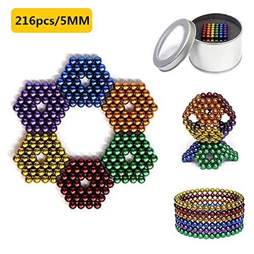 HapeeFun Bolas de Rompecabezas mágico Bola Descompresión Desarrollo Inteligente Juguetes Regalo Ideales para niños y Adultos - 6 Colores