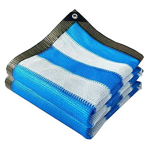 QIANGU Sombra De Sol Impermeable Vela 90% Toldo De Bloque UV Toldo De Protección Solar con Ojales para Piscina Jardín Al Aire Libre Patio Anti-Âge HDPE (Size : 5×8m)