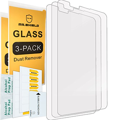 [3-PACK]-Mr.Shield For LG G Stylo 2 / LG Stylo 2 [Tempered Glass] Screen Protector with Lifetime Replacement