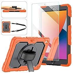 powerful IPad case 8/7, iPad case 10.2 2020/2019, [Shockproof] Ambison whole body protection …
