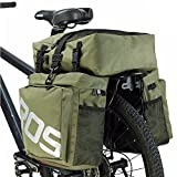 COCO Bike Panniers Waterproof Bag - 3 in 1 Multi Function Messenger Panniers for...
