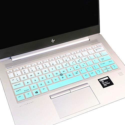 "Keyboard Cover for 13.3"" HP Elitebook 830 G5 G6 13.3""  EliteBook 735 G5 G6 13.3 13.3""  EliteBook x360 1030 G3 G4 13.3"" (NOT FIT EliteBook 830 G7 G4 G3 G2 G1, 1040 G3 G4, 1030 G2 G1 ) - Mint Green"