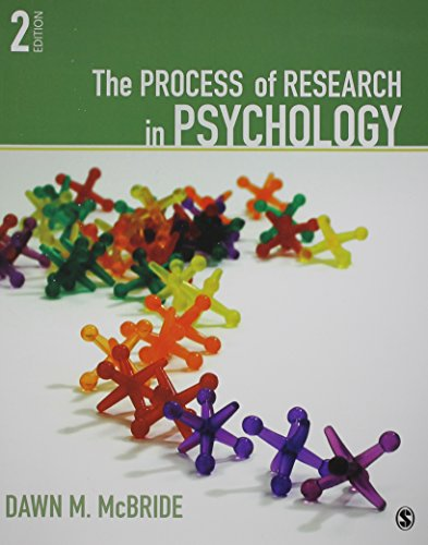 BUNDLE: McBride: The Process of Research in Psychology 2e + McBride: Lab Manual for Psychological Research 3e + Schwartz