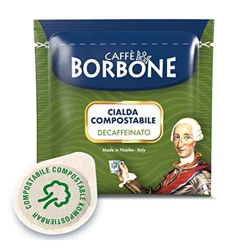 Caffè Borbone Cialde Miscela Decaffeinata - Confezione da 100 Cialde - Compatibili E.S.E. dm 44