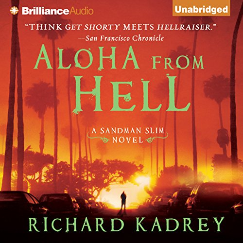 Aloha from Hell audiobook cover art
